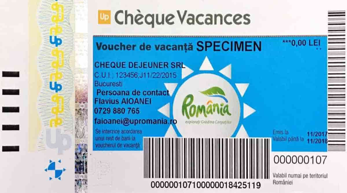 de vacanta Cheque (Up)